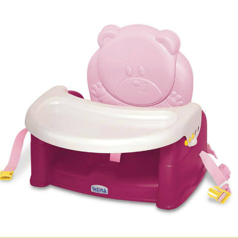 WEINA TEDDY BEAR BOOSTER SEAT / BLUEBERRIES | وينا تيدي بير بوستر سيات / بليبيريز