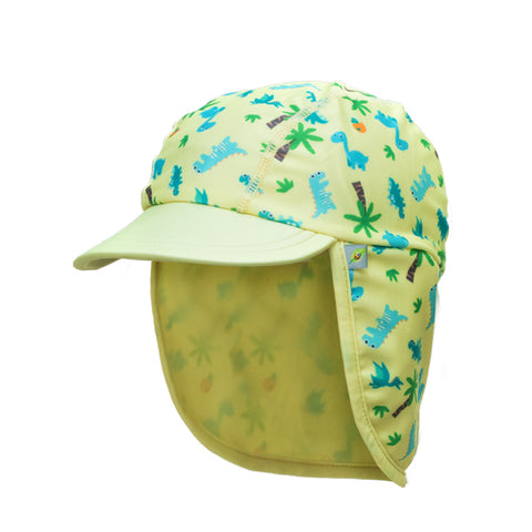 Jona Summer Fun Splash Cap Dino Yellow Large