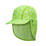 Jona Summer Fun Splash Cap Dolphin Green Large