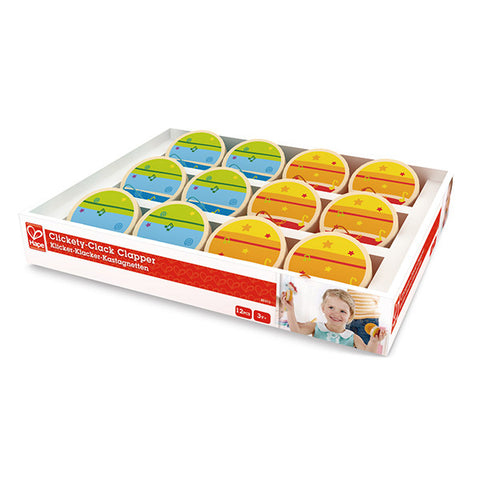 Hape Clickety-Clack Clapper(Assorted)