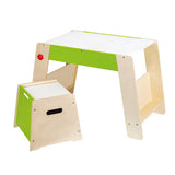 Hape Play Station & Stool Set