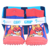 COOL GRIP Baby Shoe Socks Angry Birds - RED & BLUE Color