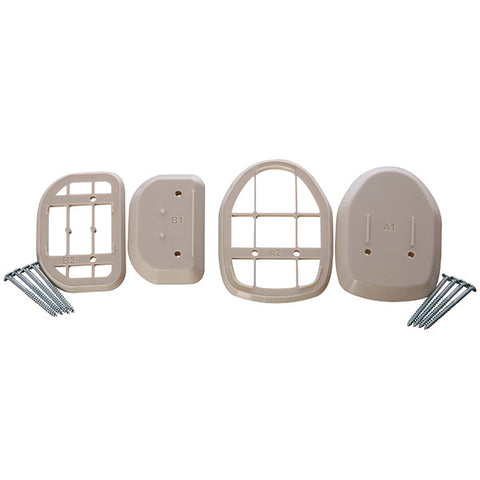 Dreambaby® Spacers For Retractable Gate White