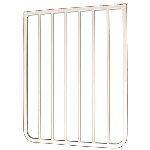 Gate Extension Model Bx2 White