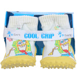 COOL GRIP Baby Shoe Socks Sponge Bob