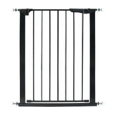 KidCo® Auto Close Gateway - Black Tall & Wide
