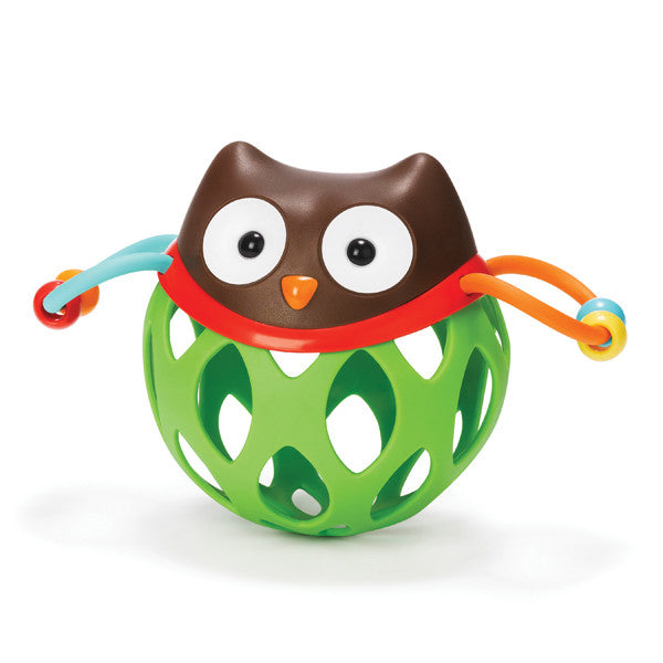 Skip Hop Explore & More Roll Around Rattle Owl