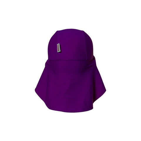 COÉGA Baby Girl Flap Hats  (Purple Diva)