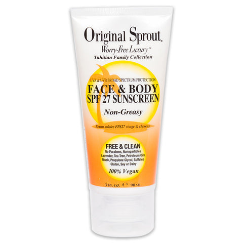 ORIGINAL SPROUT Face & Body Sunscream