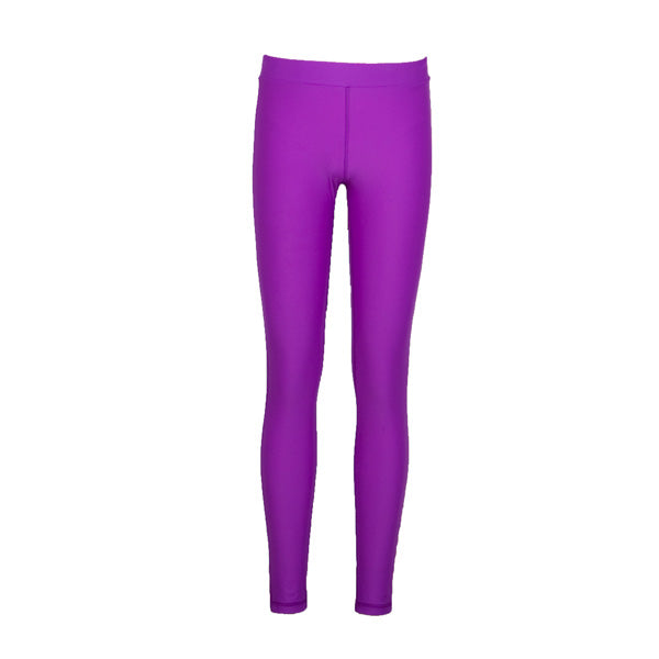 Kids Yth Leggings Sz 12 Purple Moroccan (2017)