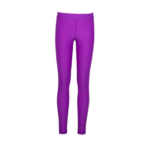 Kids Yth Leggings Sz 8 Purple Moroccan (2017)