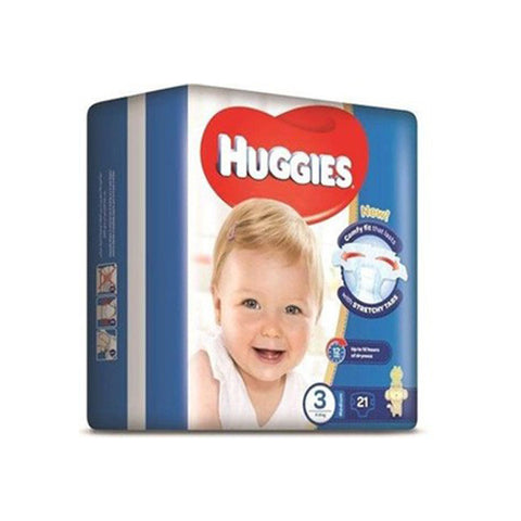 Huggies Superflex CP M Size 3, 4-9 kg, 21 Diapers