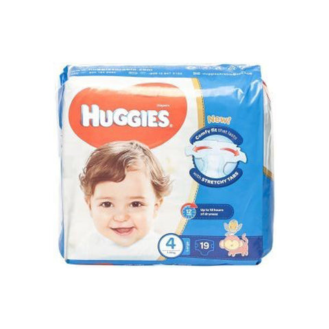 Huggies Superflex CP L Size 4, 7-18 kg, 19 Diapers