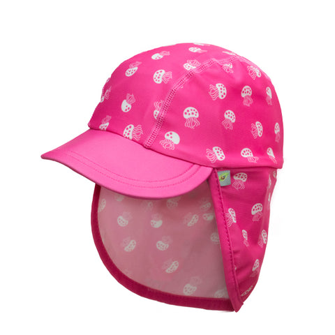 Jona Summer Fun Splash Cap Jellyfish pink Large