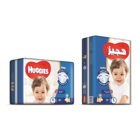 Huggies Superflex Jumbo Large (Size 4) - 62pcs