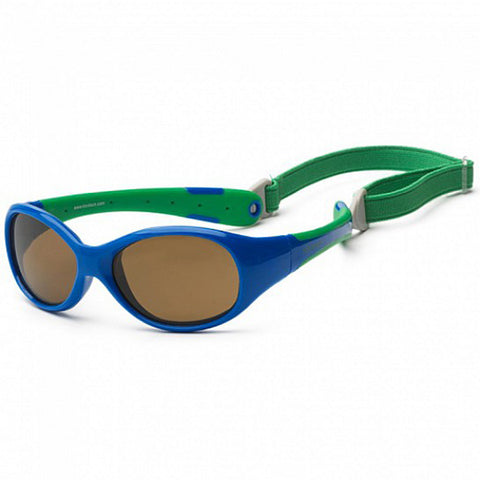 Koolsun Flex kids sunglasses Royal Green 0+