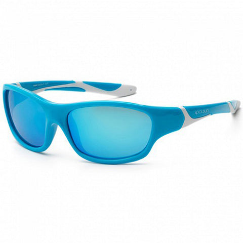 Koolsun Sport kids sunglasses Aqua White 3+