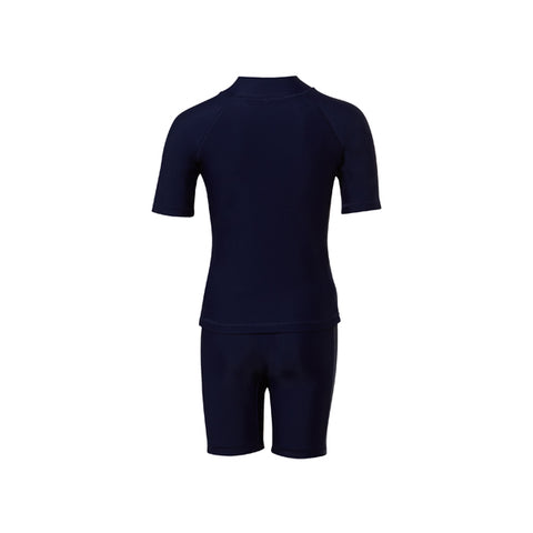 COÉGA Boy 2 pc swim suit Sz 8 Navy School (Stnd)