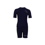 COÉGA Boy 2 pc swim suit Sz 4 Navy School (Stnd)