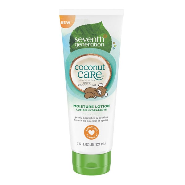 Seventh Generation Baby Personal Care Moisturizing Lotion with Coconut care (224ml)