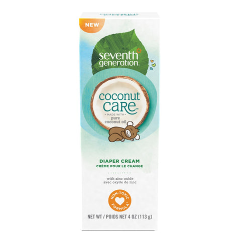 Seventh Generation Baby Personal Care Diaper Cream Tube with Coconut care (113 grams)