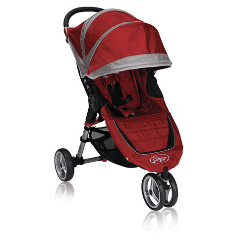 Baby Jogger City Mini Single Crimson/Grey