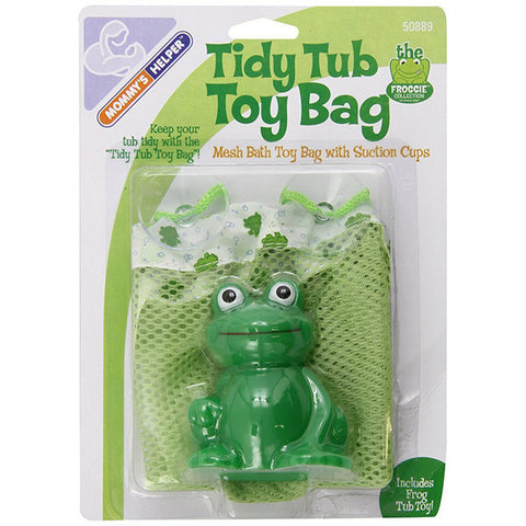 Mommy's Helper Froggie Tidy Tub Toy Bag