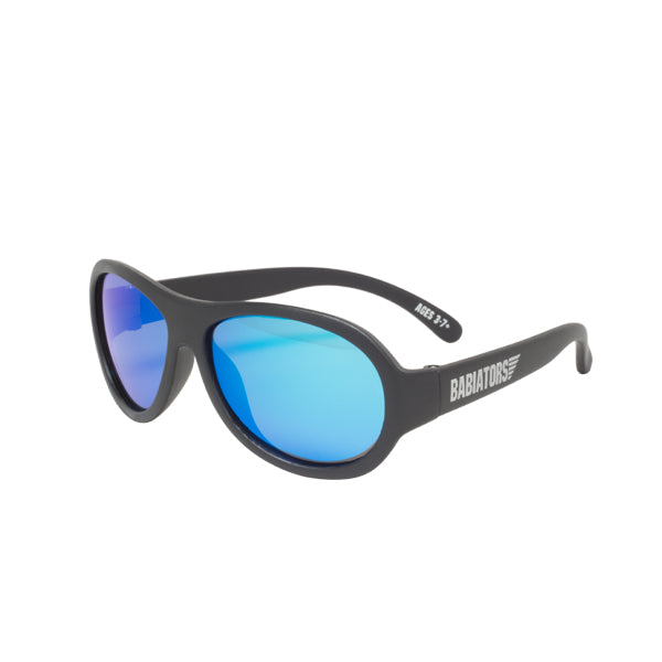 Babiators Polarized Aviator Junior Black Ops Black