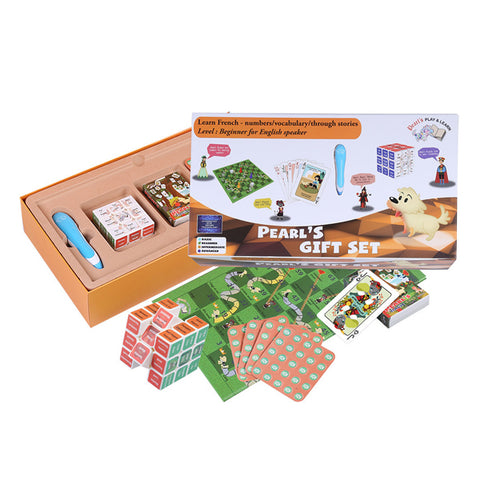 BeSafe Pearls Play & Learn Gift Box French