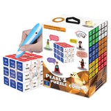 Pearls Play & Learn Puzzle Cube-1 French