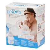 Dr Brown's Manual Breast Pump & Wide-Neck Feeding Bottle