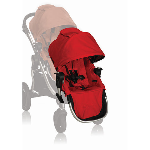 Baby Jogger Accessory City Select - Second Seat with Adaptor  Red - Black Frame
