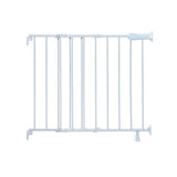 Summer infant top of stairs simple to secure metal gate -white