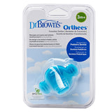 "Dr Brown's Transition Teether ""Orthees"" - Blue"