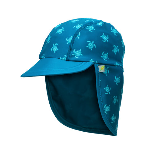 Jona Summer Fun Splash Cap Turtle Blue Large