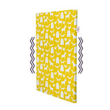 NapNap Mat 100% Egyptian Organic Cotton Cover  Ello Yellow