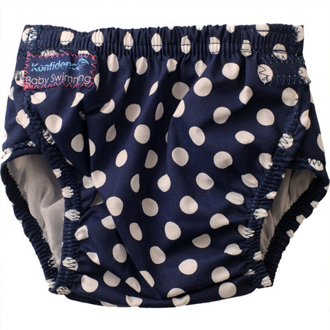 Konfidence One Size Aquanappy - Highly adjustable swim nappy to fit 3 - 30 months approxn/a