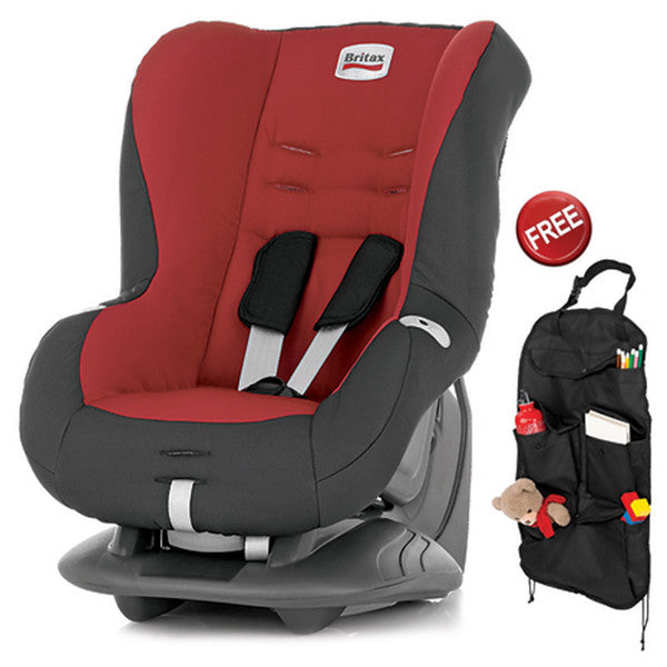 Britax - ECLIPSE - Chili Pepper +Seat Organiser Free