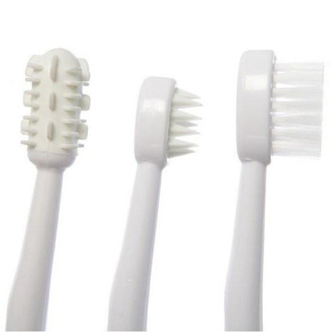 Dreambaby® Toothbrush Set 3 Stage White