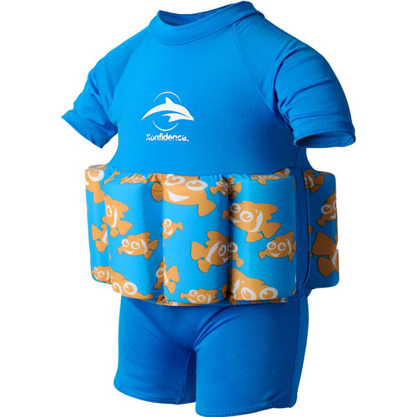 Konfidence Float Suit - Buoyancy Aid for Swimming with Removeable Floats 4-5 yrs