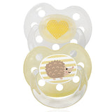 Baby Nova Silicon orthodontic pacifier- Deco -2 pcs- Size 2