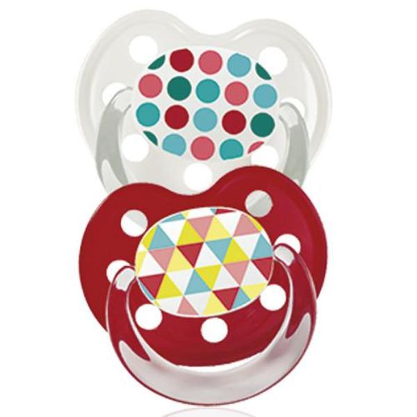 Baby Nova Silicon orthodontic pacifier- Deco -2 pcs- Size 3