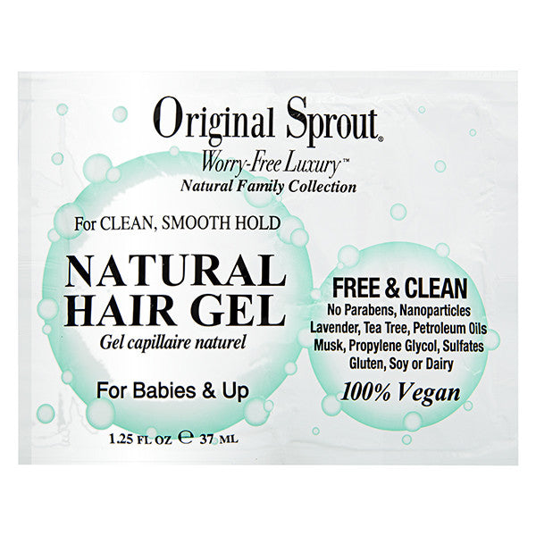 ORIGINAL SPROUT Sachets Natural Hair Gel