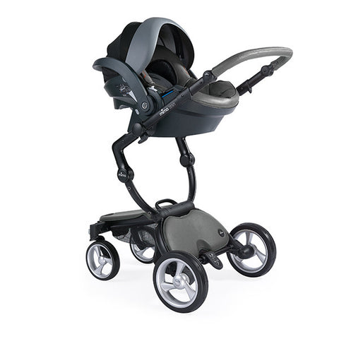 Mima iZi Go by BeSafe (with car seat adaptor) Cool Grey