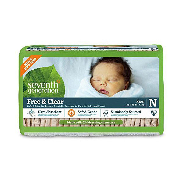 SEV GEN Baby Diapers - Newborn (upto 4.5 Kgs)