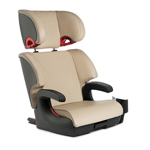 Clek Oobr Leather Booster Seat Paige