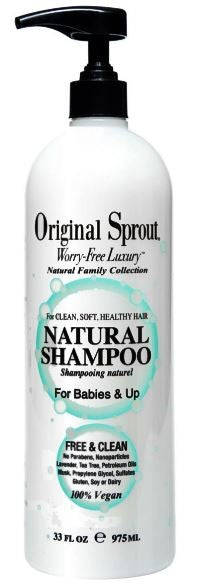 ORIGINAL SPROUT  NATURAL SHAMPOO 33oz | أورجنال سبروت ناتشورال شامبو 33oz