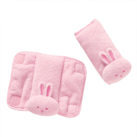 Summer infant Cushy Straps - Pink Bunny