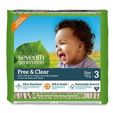 SEV GEN Baby Diapers - Stage 3 (7.2 - 12.7 Kgs)