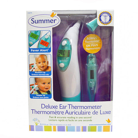 Summer infant deluxe ear thermometer